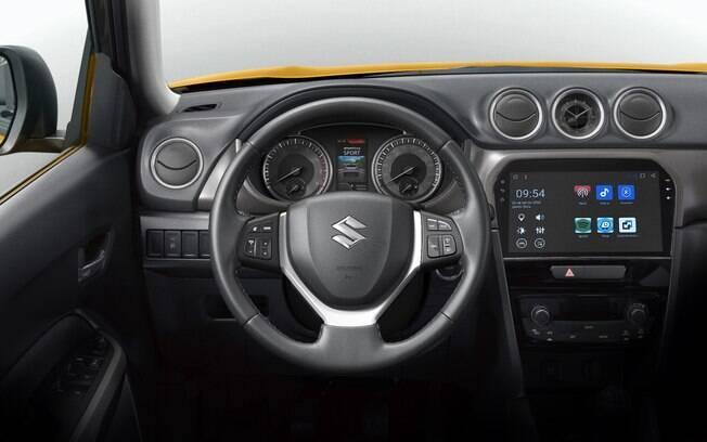 Suzuki Vitara 2019 tem a central multimídia com tela de 10 polegadas entre os principais destaques