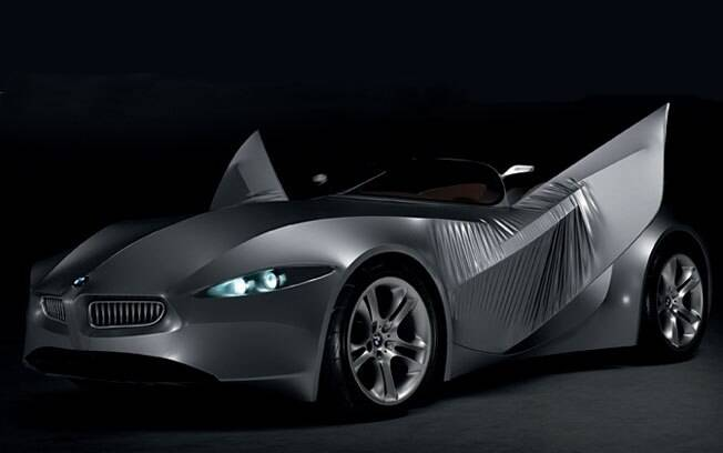 Já imaginou um carro feito de tecido? Essa é a ideia por trás do BMW GINA, um conceito que usa lycra.
