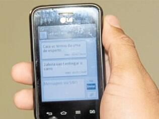 Em mensagem registrada pelo celular da vítima, suspeito disse que iria entregar carro na segunda
