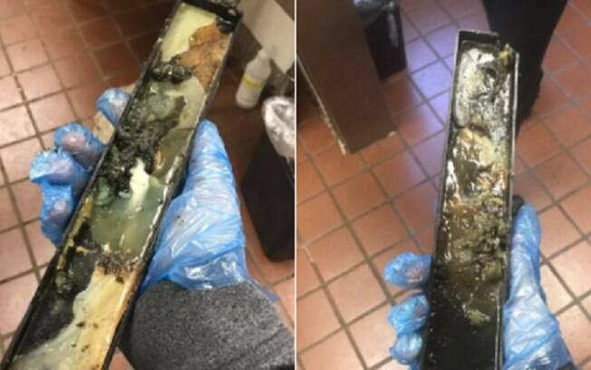 Máquinas de sorvetes do McDonald's em que Nick trabalhava não estavam recebendo a limpeza adequada