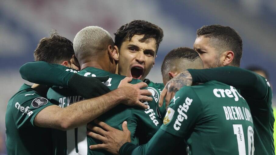 Palmeiras vem de vitória na Libertadores