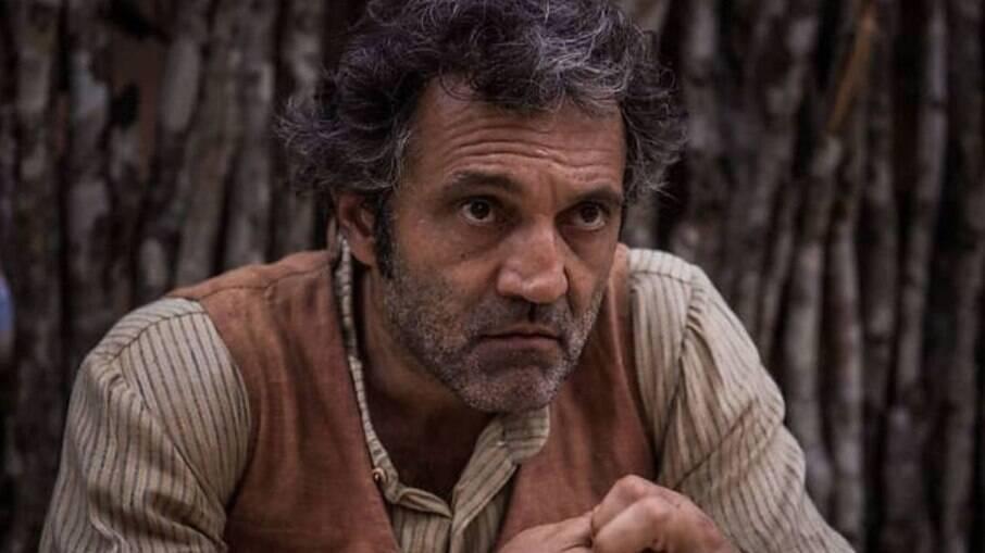 Domingos Montagner no ar na novela 'Velho Chico