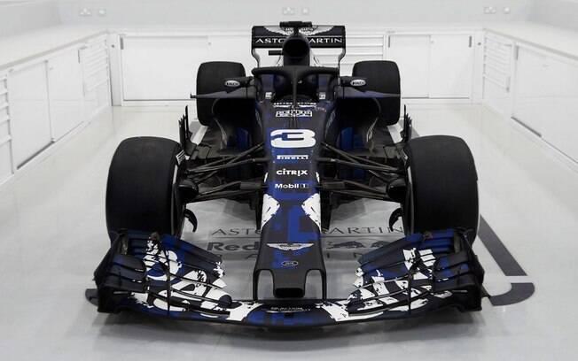 Red Bull apresenta carro para temporada 2018 da Fórmula 1