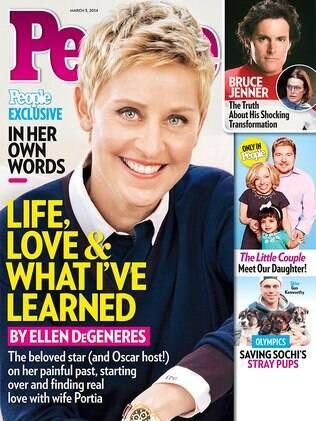 Ellen DeGeneres na capa da revista People