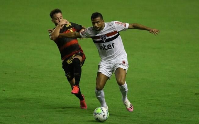 Jogo entre São Paulo e Sport