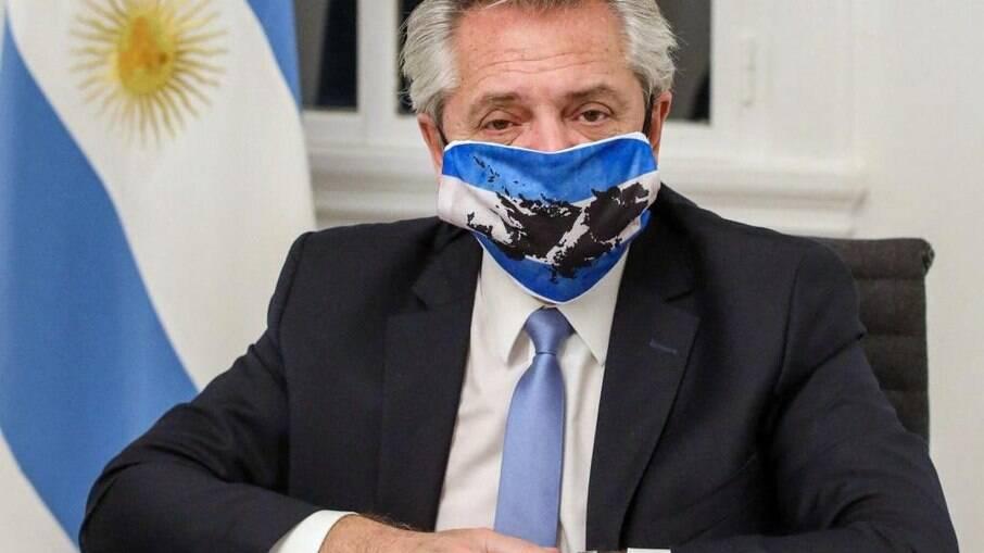 Alberto Fernandez classifica a atual situação da pandemia na Argentina como