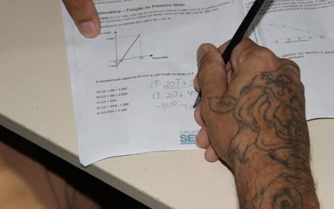 Presídios da região inscrevem 721 presos na Olimpíada de Matemática
