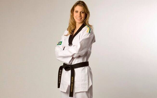 Natália Falavigna é a principal atleta do taekwondo brasileiro