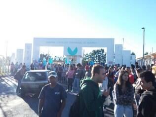 Professores e estudantes aderiram ao protesto dos técnicos-administrativos em educação da Universidade Federal dos Vales do Jequitinhonha e Mucuri (UFVJM)