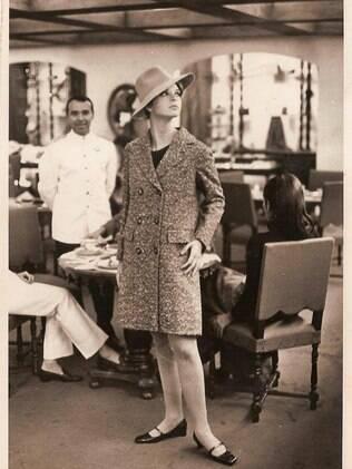 Vera Gimenez, modelo da Casa Vogue, aos 19 anos