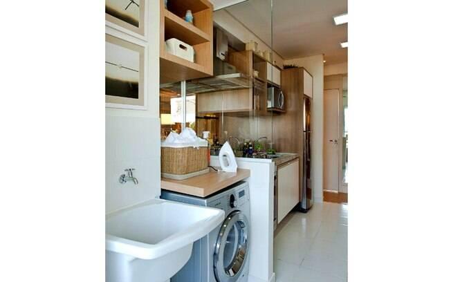 Lavanderias pequenas podem ser um problema nos apartamentos de hoje, mas tem solução com algumas dicas simples