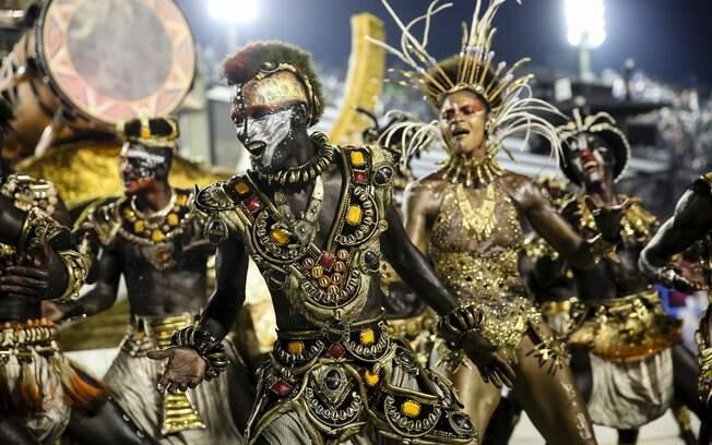 Vila Isabel falou sobre a influência dos negros na musicalidade das Américas