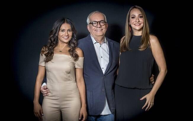 Dira Paes, Artur Xexéo e Maria Beltrão formam o time da cobertura Globo no Oscar 2019