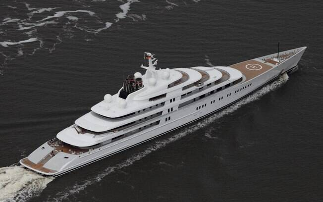 47b44f63f Conheça os dez maiores barcos particulares do mundo - Máquinas - iG