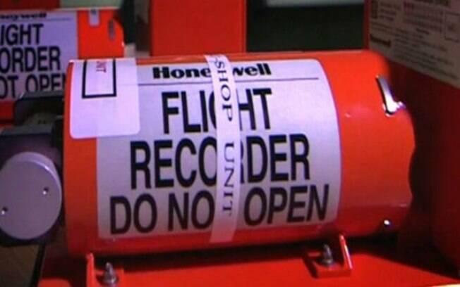 Uma caixa-preta, objeto que ajuda a entender causas de acidentes: na verdade, ela é laranja