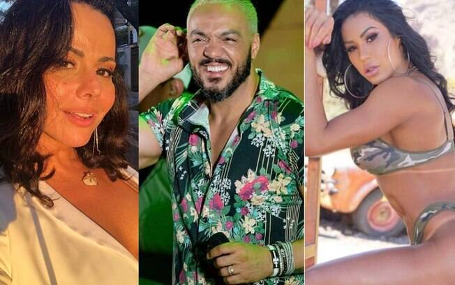Belo traiu Viviane Araújo com Gracyanne Barbosa