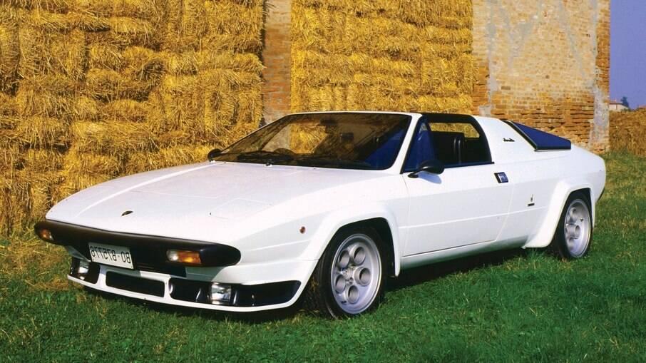 Lamborghini Silhouette: acabou tendo dificuldades para entrar no mercado norte-americano e  terminou esquecido