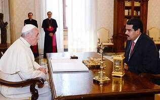 Maduro recorre ao papa e promete rever relações com nações que apoiam Guaidó