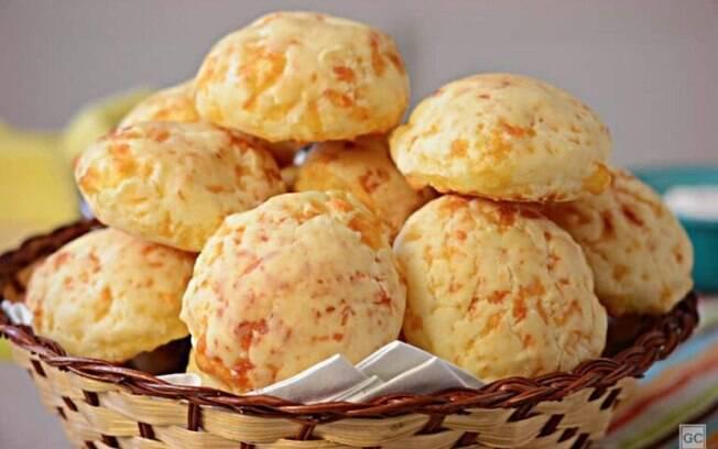 Pão de queijo: crocante por fora e macio por dentro