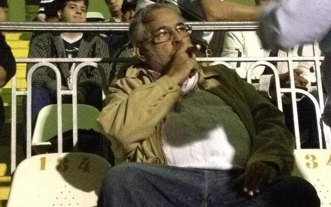 Eurico Miranda, candidato à presidência no  Vasco: