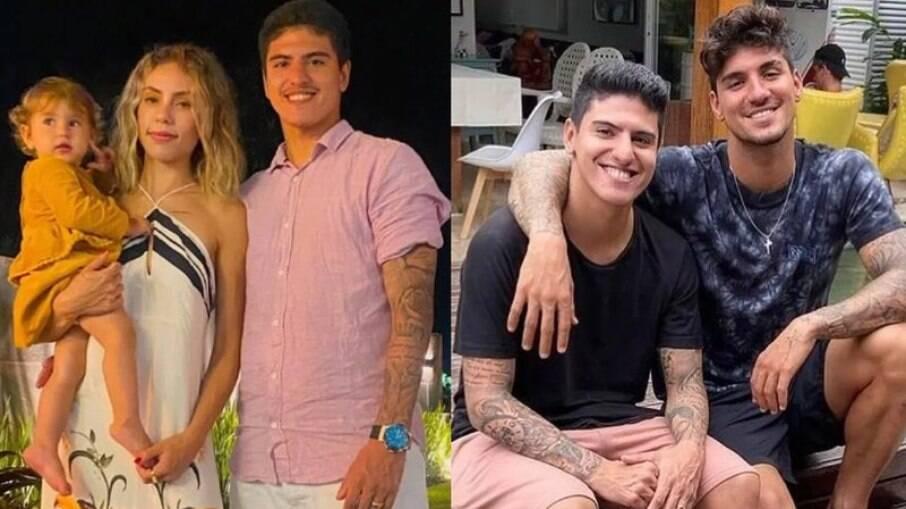 Esposa de Felipe Medina contou que houve uma briga entre a família