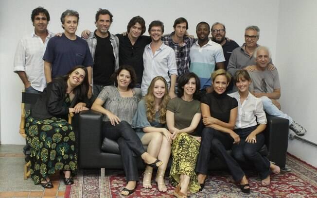 Todo o elenco, direção e produção de