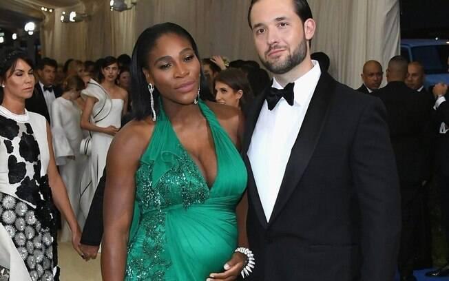 A primeira filha de Serena Williams com o noivo Alexis Ohanian nasceu nesta sexta-feira na Califórnia