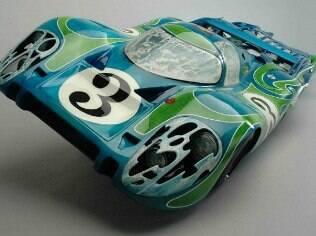 Detalhe do Porsche 917L feito por Dennis Hoyt