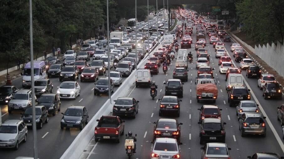 Rodízio municipal de veículos em São Paulo