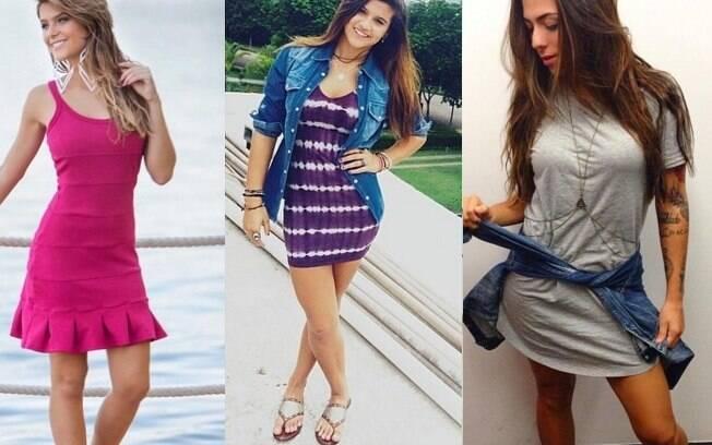 Os vestidinhos de Isabella Santoni, Giulia Costa e Petra Mattar podem te ajudar na escolha