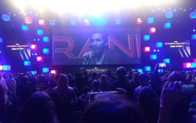Painel da Sony na CCXP 2018