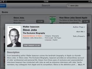 Pré-venda iniciada da biografia de Steve Jobs