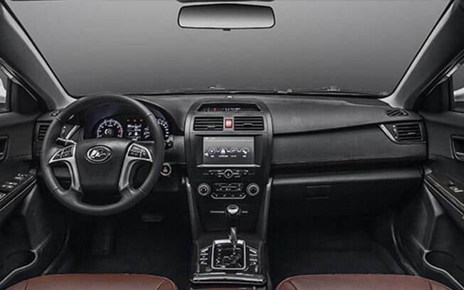 Por dentro, Lifan 820 tem entre os destaques a central multimídia