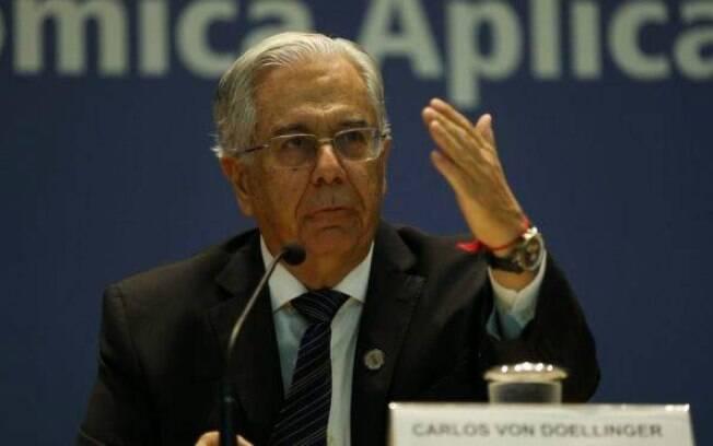 Carlos von Doellinger, presidente do Ipea, não concorda com pesquis ado próprio instituto