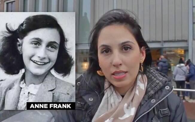 O Perca a Novela visitou a casa de Anne Frank em Amsterdam