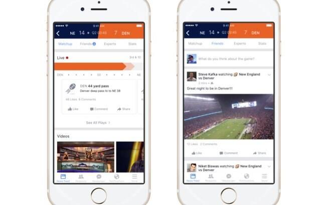 Facebook Sports Stadium é um espaço dentro da rede social para os fãs consumirem informações sobre esportes como opinião de especialistas, comentários de amigos e dados