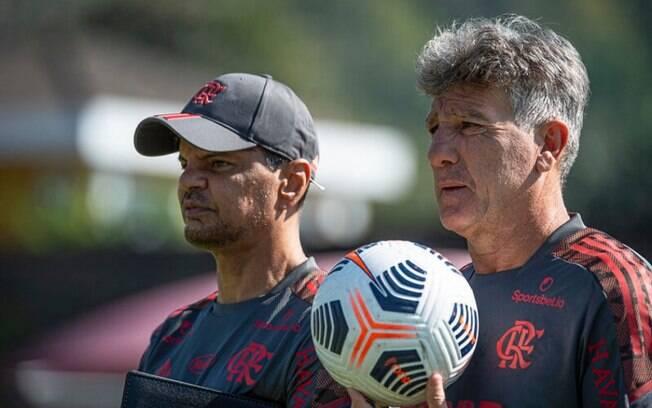 Estreia de Renato Gaúcho pelo Flamengo no Brasileiro terá cinco desfalques