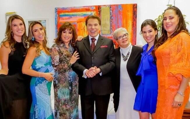 Filhas de Silvio Santos saem em defesa do pai após polêmica com a cantora Claudia Leitte