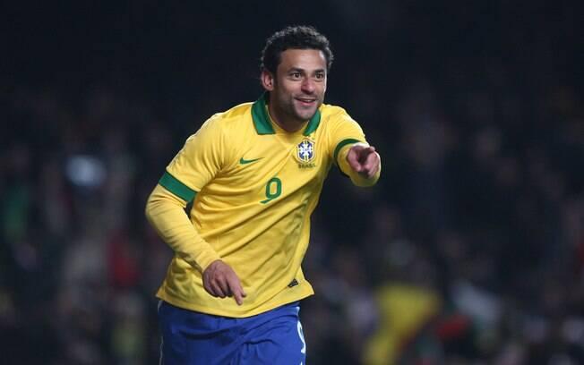 Fred comemora gol de empate no fim