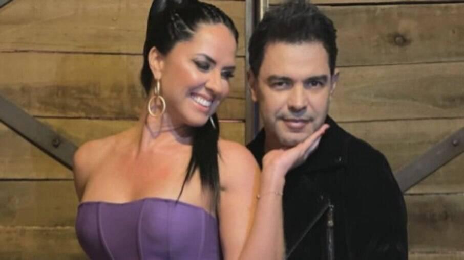 Graciele Lacerda diz que Zezé Di Camargo é o mais ciumento do casal