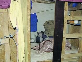 Em 2012.  Operários de obra no bairro Buritis, em BH, foram resgatados de alojamento inadequado