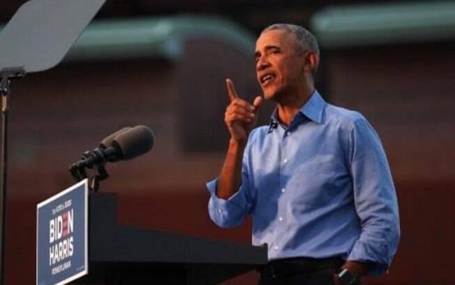 Barack Obama criticou seu sucessor