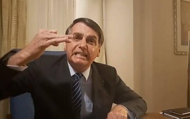 Jair Bolsonaro em live
