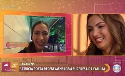 Irmã de Patrícia Poeta é liberada para homenagem