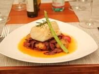 Foto da receita Lombo de bacalhau à moda do chef pronta.