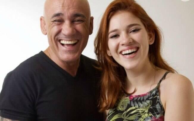 Ana Clara e pai, ex-BBBs