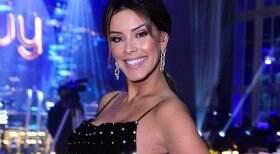 Ex-BBB Ivy Moraes exibe nova tattoo em evento de luxo