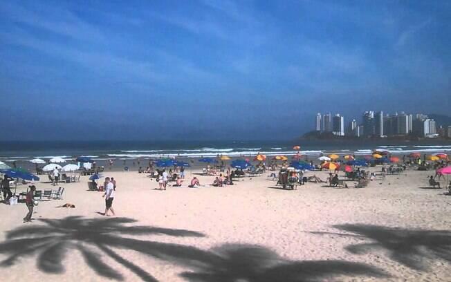 Pitangueiras, no centro do Guarujá