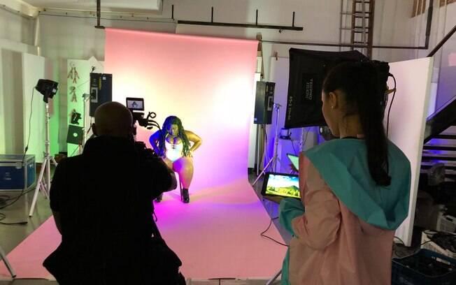 Jojo Toddynho grava clipe em São Paulo