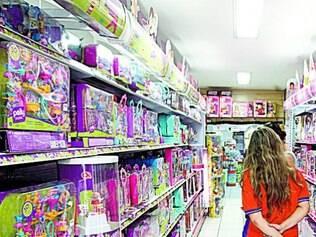 Menos. Brinquedo tem preferência de 45,84% dos consumidores